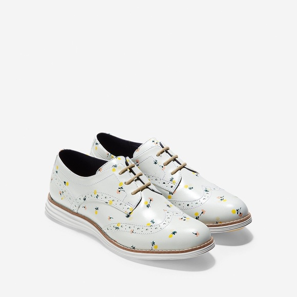 Cole Haan Floral Oxford